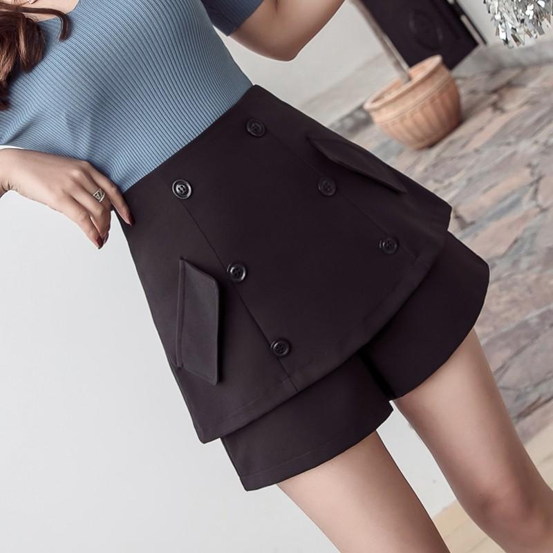 Chân Váy Lưng Cao Thời Trang Theo Phong Cách Hàn Quốc Dành Cho Nữ
