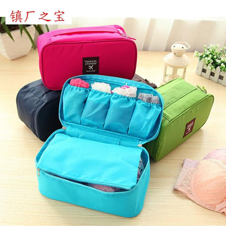 Túi đựng mỹ phẩm, đồ lót tiện lợi đi du lịch