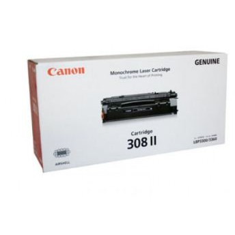 Mực in dung lượng cao Canon Cartridge 308II - Black Laser Toner Cartridge dùng cho máy LBP3300