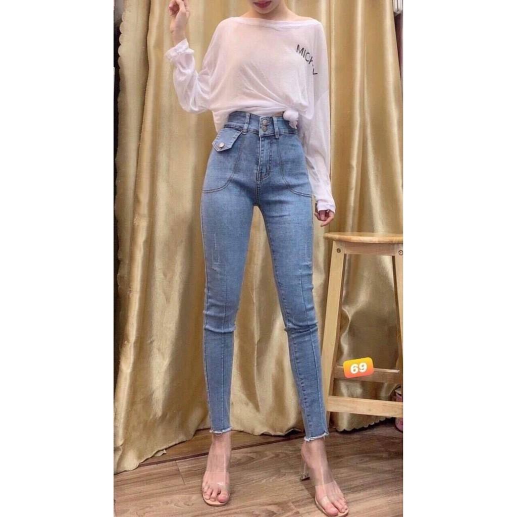 Quần Jeans Nữ Lưng Cao Murad Fashion MS436