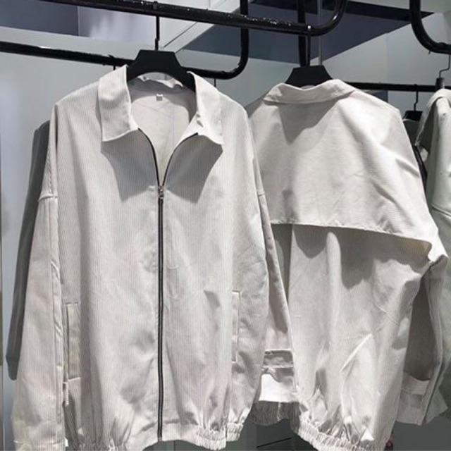 Set áo khoác sọc ( có bán lẻ áo và quần )