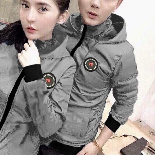 Áo khoác dù cặp nam nữ thời trang 954