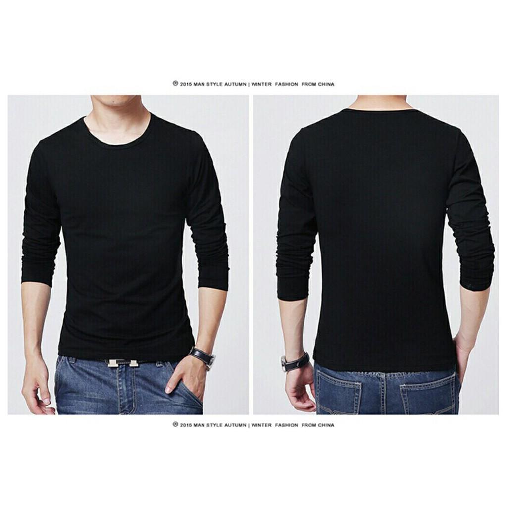 Bộ sưu tập áo thun nam body dài tay hot