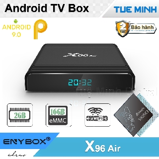 Android TV Box X96 Air - Amlogic S905X3, 2GB Ram, 16GB bộ nhớ trong, Android 9