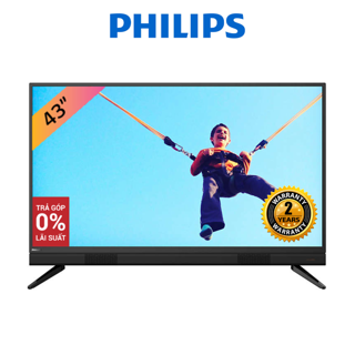 [Nhập ELMAY1M giảm 5%] Tivi LED Philips 43 Inch Full HD - 43PFT5583/74 (Model 2020)