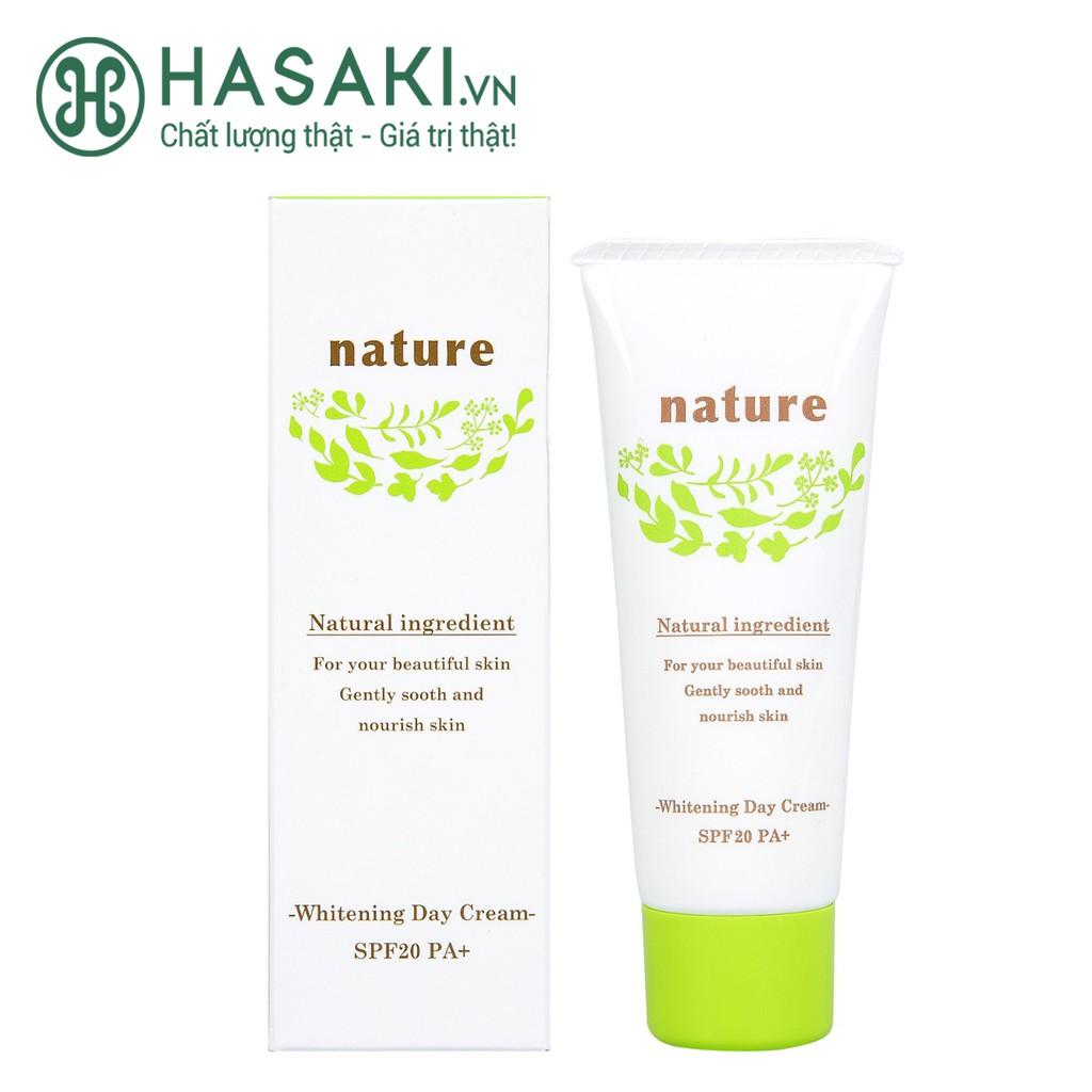 Kem Dưỡng Naris Nature Làm Sáng Da Ban Ngày SPF20 PA+ Whitening Day Cream SPF20 PA+ 40g