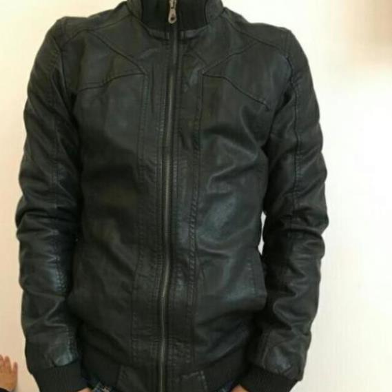 áo khoác da AC199