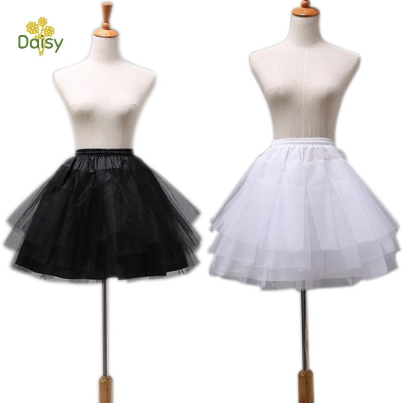 Chân váy tutu thời trang mùa hè thiết kế màu trơn cho bé gái