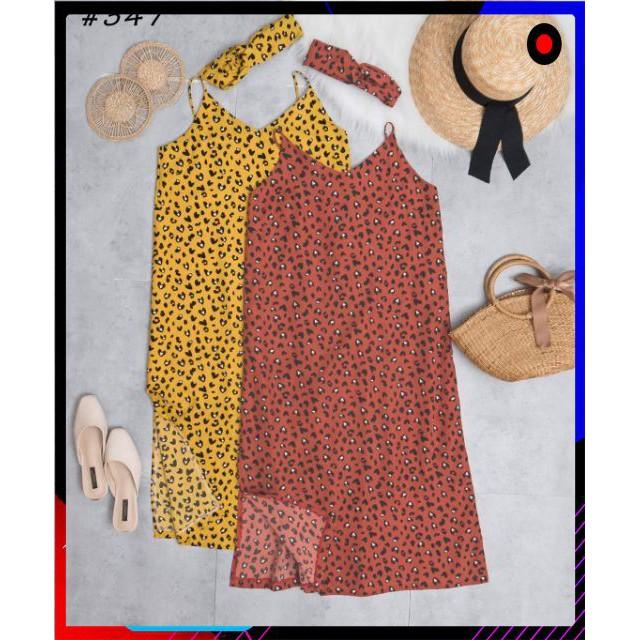 [GIÁ SỈ] Váy báo 2 dây kèm tuban_TL6109