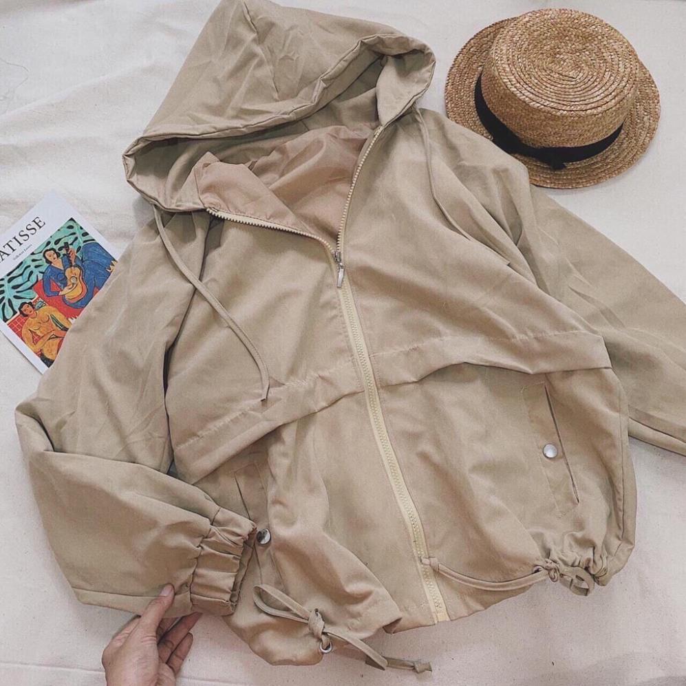 áo khoác nữ , áo dù 2 lớp 17