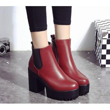 boots cao gót