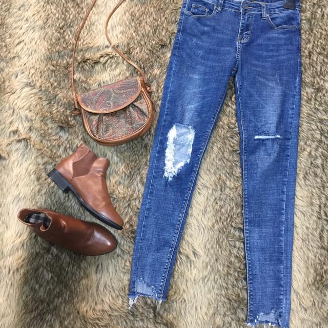Combo quần jean & áo khoác