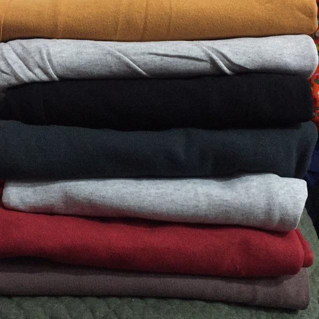 Thun cotton màu đỏ