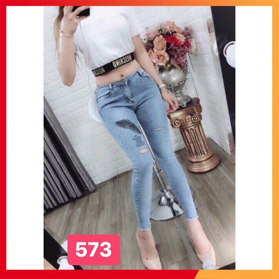 [Giảm mạnh] mẫu quần jean nữ cao cấp chất lượng