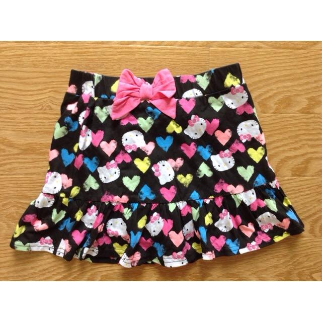 Chân váy liền quần Kitty 6-8t