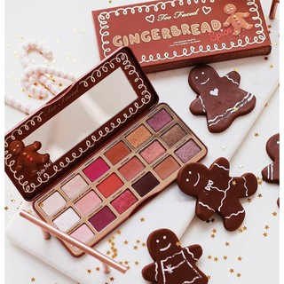 Set màu mắt Too Faced Gingerbread Spice Eye Shadow Palette (bảng limit)