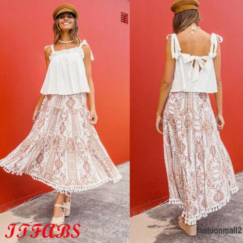 [ FAS ] Chân váy tua rua thời trang đi biển cho nữ