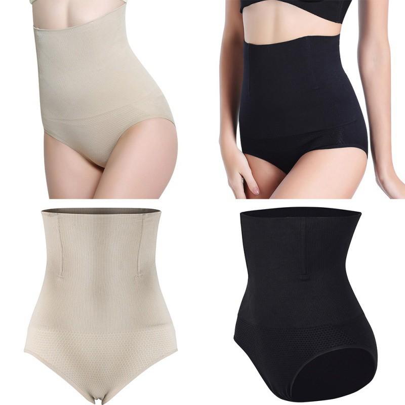 Quần lót lưng cao màu trơn phong cách đơn giản tôn dáng nữ