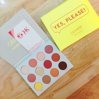 Bảng phấn mắt COLOURPOP YES,PLEASE PRESSED POWDER SHADOW PALETTE