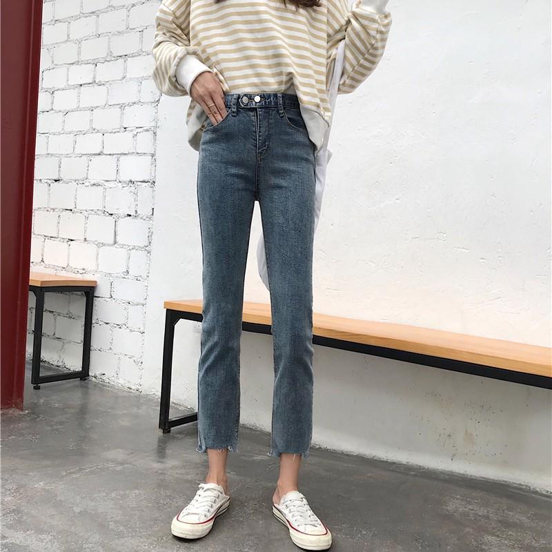 Order 10 ngày_quần jeans dáng loe ulzzang D1239