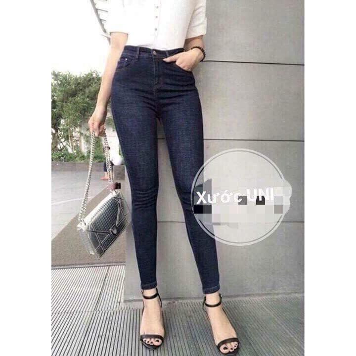 Quần jean nữ co giãn thời trang (có size cho khách trên 80kg) - MonShopJean - QJ003