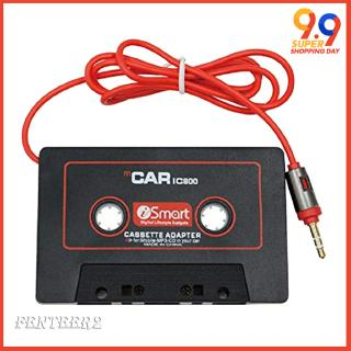 Car Audio Tape Cassette Adapter for iPhone Radio 3.5mm Jack Aux
