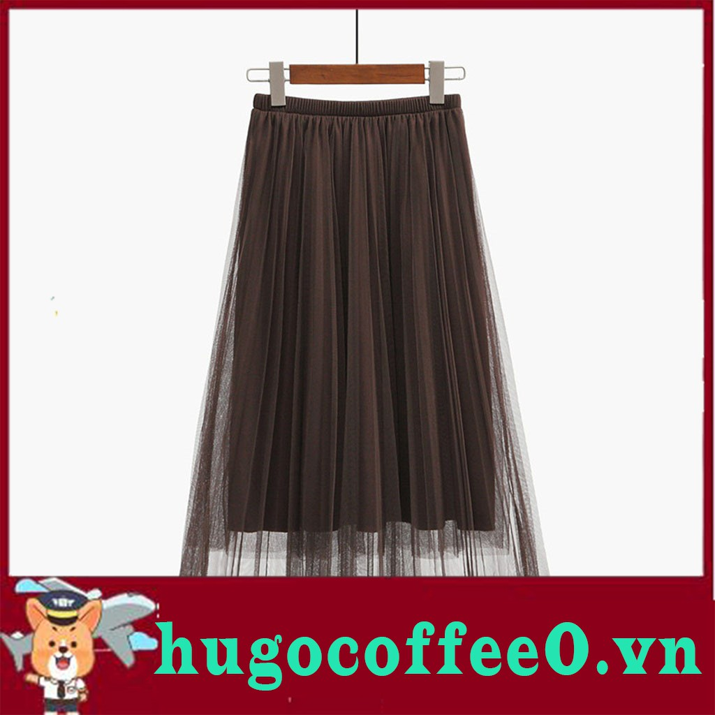 [Mã FSS09JAN hoàn 20% XU đơn từ 0đ]Chân váy xòe nhiều lớp phong cách Hàn Quốc thanh lịch dành cho nữ