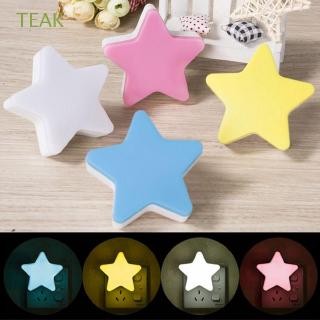 TEAK Cute Decoration Hallway Bedroom Children Star Night Light