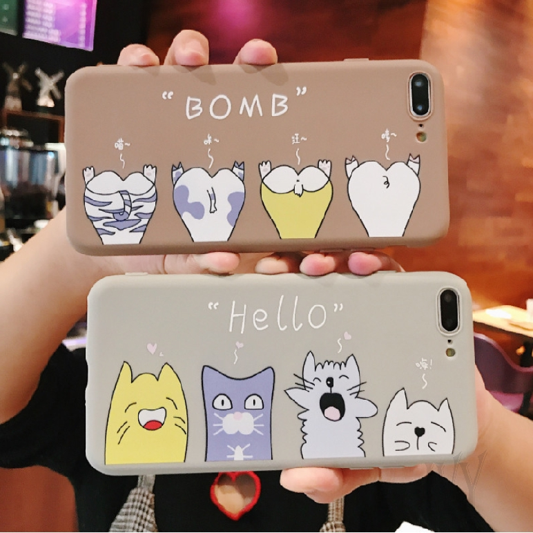 Hình ảnh iPhone6 7 8 6p 7p 8p X XR XS Max All-inclusive Soft Shell Phone Case Couple Protection Case 722