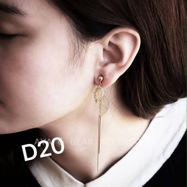 Bông tai mã D20