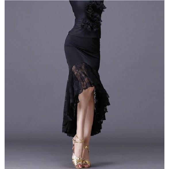 Chân Váy Đuôi Cá Phối Ren Hoa Cho Phái Nữ