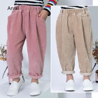Styling costume Casual sweatpants Simple Children Baby Boys Cotton Pants temperament Summer Baby Kids Boys Girls Casua