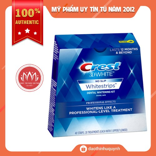 [FullBox - 20miếng] Crest 3D White Professional Effects