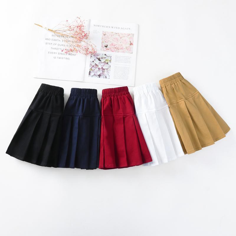 Set Áo Thun Ngắn Tay + Chân Váy Xếp Ly Xinh Xắn Cho Nữ