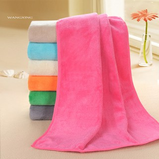 WX_Microfiber Super Absorbent Quick Dry Shower Salon Barber Shop Hair Drying Towel