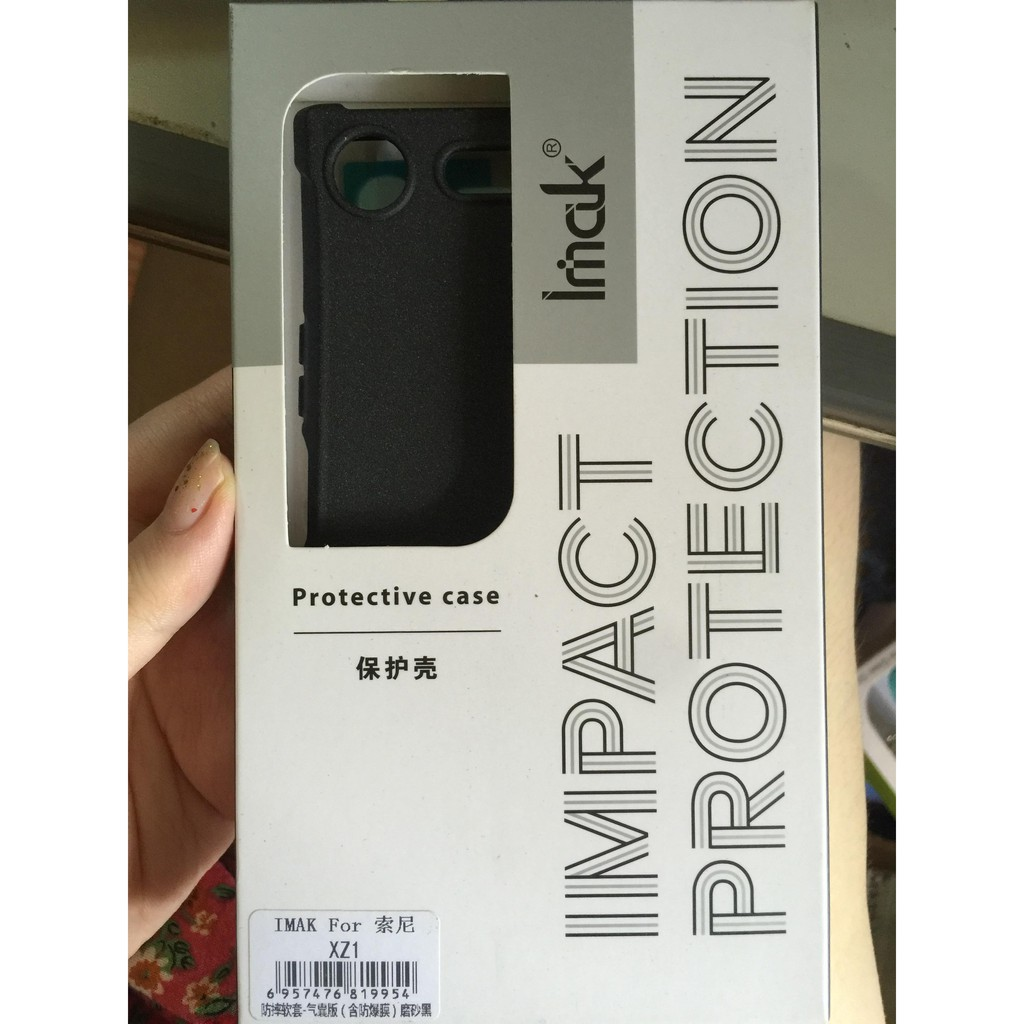 Ốp lưng Sony XZ1 chống sốc Imak chính hãng tặng dán màn hình
