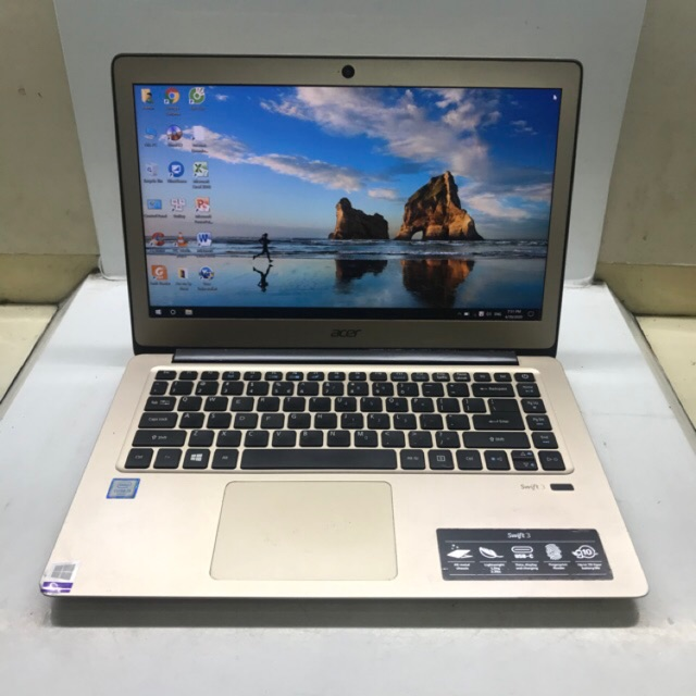 Máy laptop Acer Swift 3 SF314-51 Intel Core i5-6200U, 8gb ram, 256gb ssd, Vga Intel Hd Graphics 520, 14 inch. Đẹp, Nhẹ #0