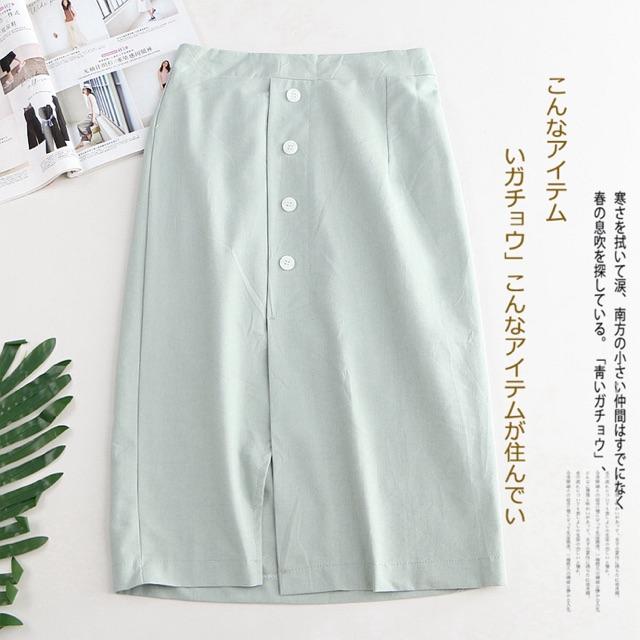 Chân váy dáng suông dịu dàng hàng TQ xuất Nhật dư