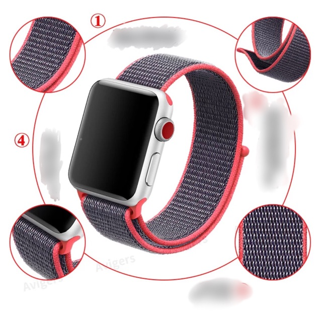 Dây đồng hồ apple watch / dây đồng hồ thể thao apple watch