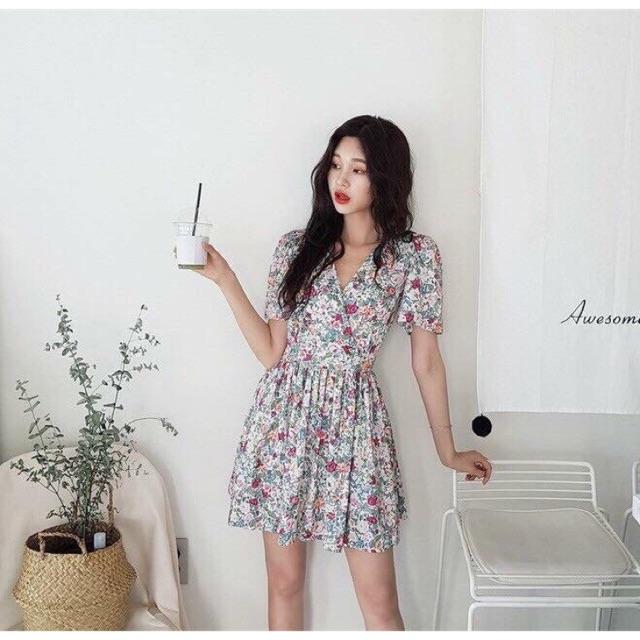 Đầm hoa xinh