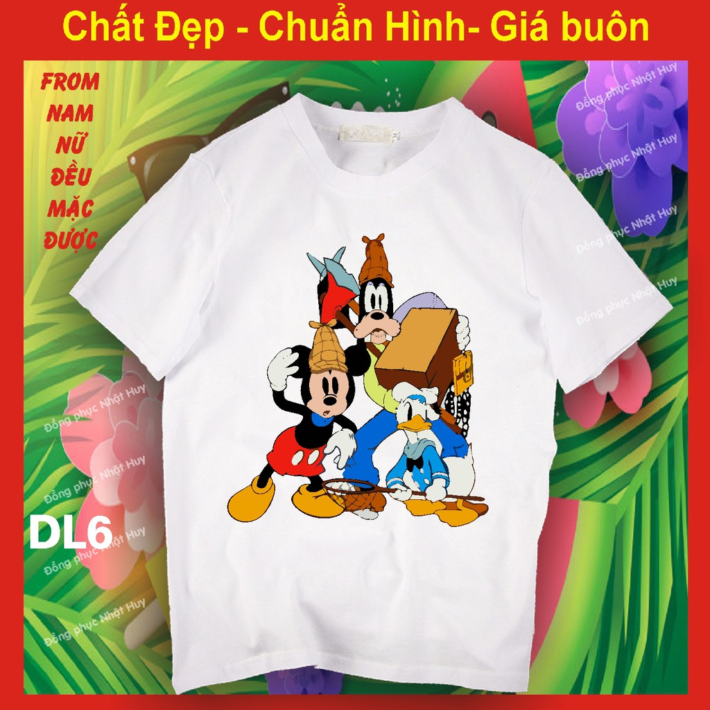 áo thun vịt Donald DL6, phông , chất đẹp, bao đổi trả,
