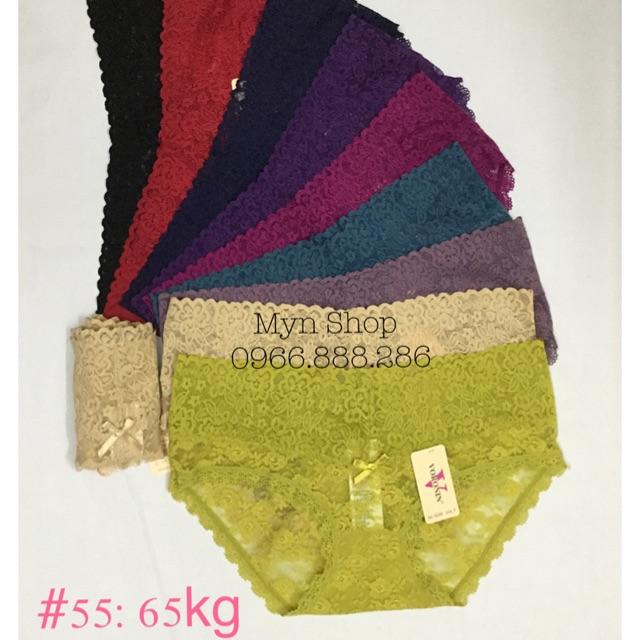 10c quần ren chun size TO (55:65kg)