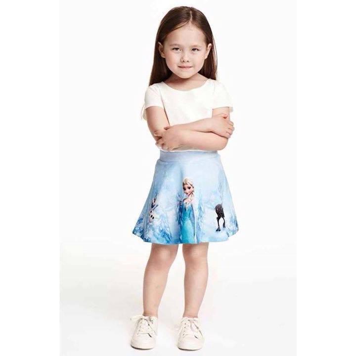 Chân váy H&M cho bé gái, xách Mỹ