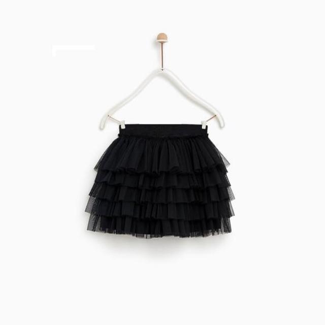 Combo chân váy đen tầng