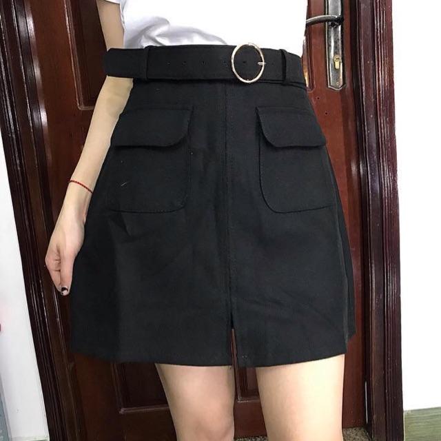 Chân váy 2 túi