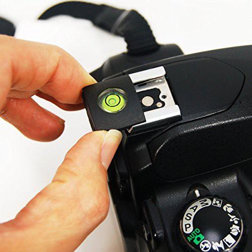 Nắp che bụi chân đèn Flash Hotshoe có hạt nước cân bằng cho máy ảnh DSLR Chammart