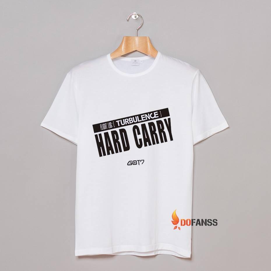 Áo thun Hard Carry Got7