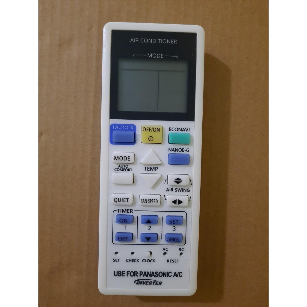Điều khiển điều hòa Panasonic các dòng 1 chiều 2 chiều Inverter- Hàng tốt Tặng kèm Pin!!!