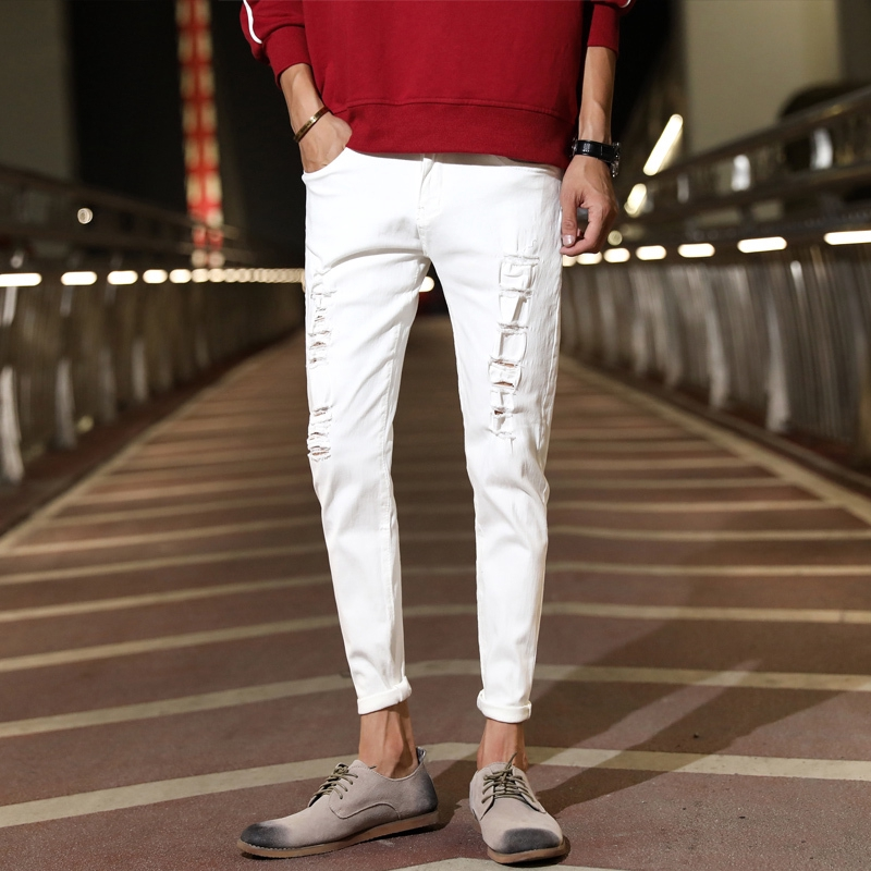 XXAshop.vn  denim pant authentic jeanshot trendy men's must-have Korean new Thời Trang Nam > Quần > Quần Jean