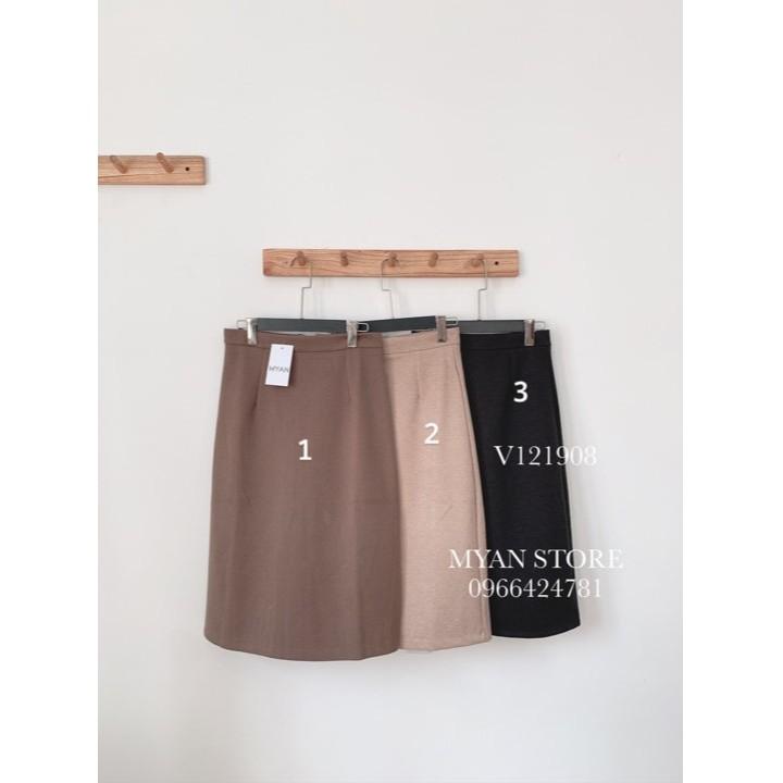 Chân váy dạ midi V121908